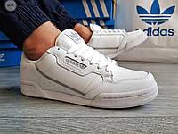 Мужские кроссовки Adidas CONTINENTAL 80 White (р. 43 ) Белые, фото 1