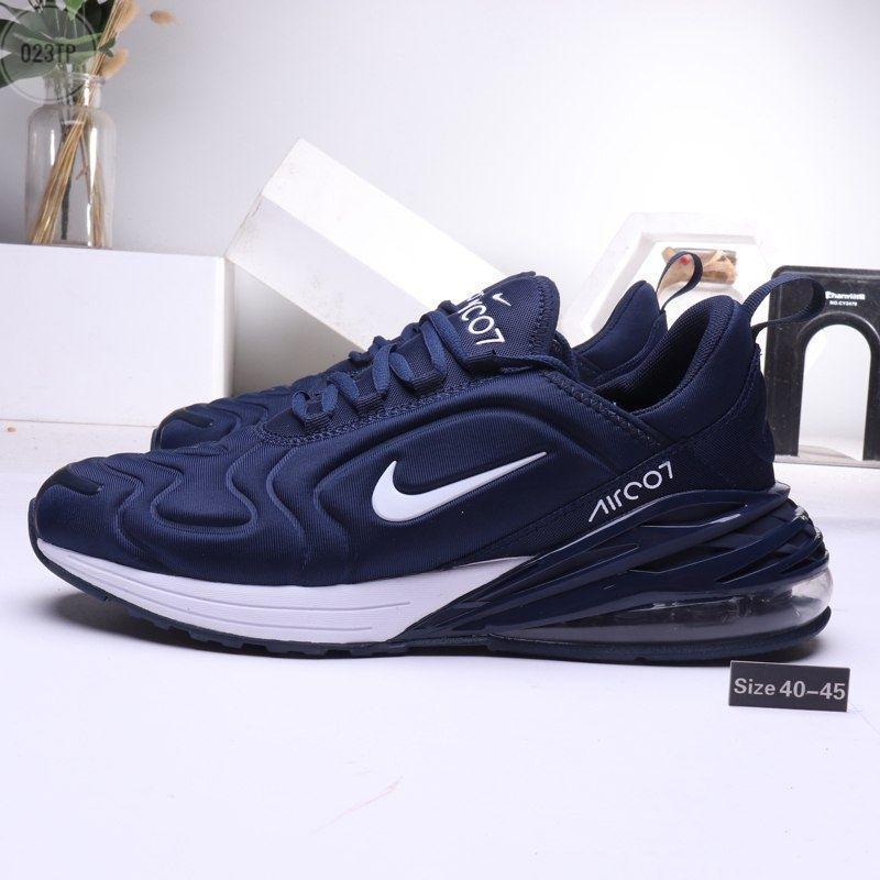 Мужские кроссовки Nike Air  270 Blue (р. 42 и 44 ) Синие