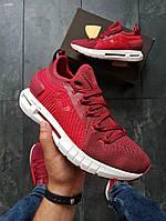 Мужские кроссовки Under Armour HOVR Phantom SE/ Red (р. 41 и 44 ) Красные, фото 1