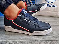 Мужские кроссовки Adidas CONTINENTAL 80(р. 42,43,46) Синие, фото 1