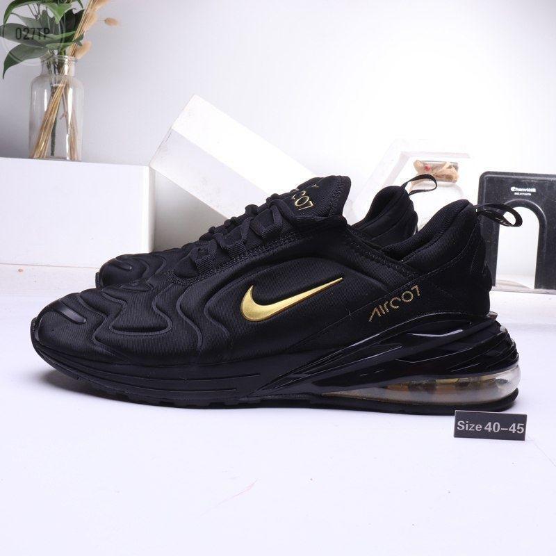 Мужские кроссовки Nike Air 270 Black/Gold