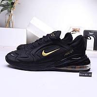Мужские кроссовки Nike Air 270 Black/Gold, фото 1