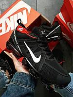 Мужские кроссовки Nike Vapormax 19 Kauchuk Black/White ( р. 43, 44) Черные, фото 1