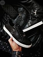Мужская фирменная обувь Philipp Plein (41, 43) Черные, фото 1