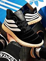 Мужские зимние кроссовки Adidas Sobakov Winter Black (р. 40,41,42) Черные, фото 1