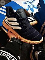 Мужские зимние кроссовки Adidas Sobakov Winter Dark Blue ( р. 41) Синие, фото 1