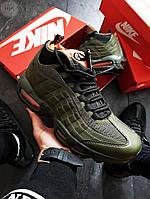 Мужские кроссовки Nike Air Max 95 Sneakerboot Green ( р. 41,42,43,44,45 ) Зеленые, фото 1
