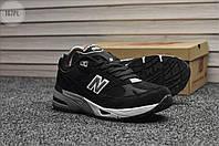 Мужские кроссовки New Balance 991 Black (р. 42 и 44) Черные, фото 1