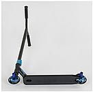 Трюковый самокат Best Scooter HIC-система, ПЕГИ, алюминиевый диск и дека, колёса PU, d=10см 4 цвета, фото 2
