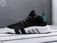 Мужские кроссовки Adidas EQT Basketball ADV Black/Green (р. 41,42,44) Черные, фото 1