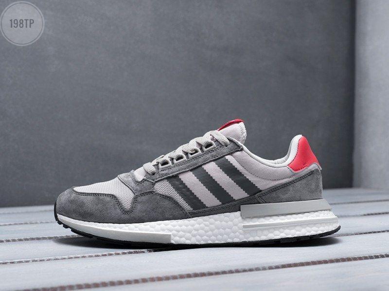 Мужские кроссовки Adidas ZХ 500 RМ Grey (р. 41 44 45) Серые