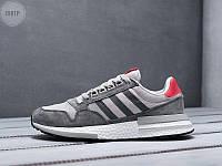 Мужские кроссовки Adidas ZХ 500 RМ Grey (р. 41 44 45) Серые, фото 1