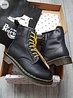 Ботинки женские зимние Dr. Martens 1460 Black (р. 37 38 40 41) Черные, фото 1