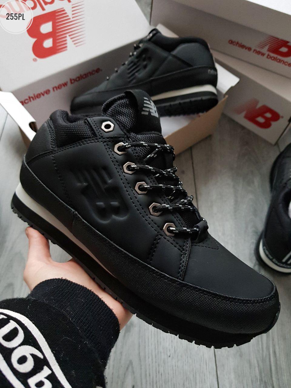 ЗИМА!!! Мужские кроссовки New Balance 754 Black Winter (р. 43) Черные зимние