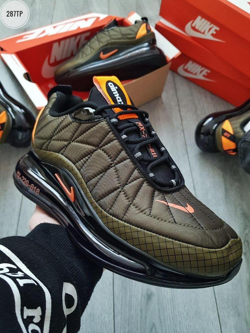 Мужские кроссовки Nike Air Max 720-818 Khaki (р. 41 42 43 44 45) Хаки (зеленые)