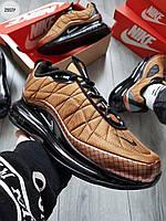 Мужские кроссовки Nike Air Max 720-818 Bronze (р. 41 42 43 44 45) Коричневые, фото 1