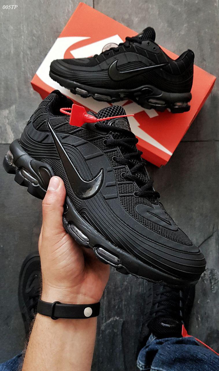 Мужские кроссовки Nike 97 TN Black (р. 42 и 43) Черные