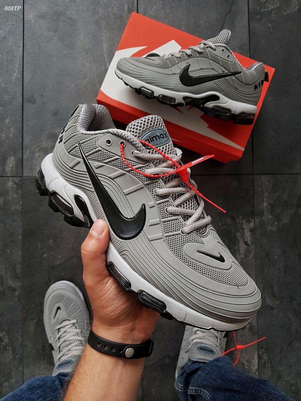 Мужские кроссовки Nike 97 TN Gray (р. 43 и 44) Серые