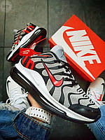 Мужские кроссовки Nike Air TN Plus Grey/Red (р. 41 42 43 44) Серые, фото 1