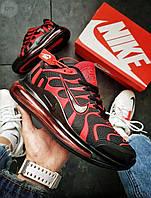 Мужские кроссовки Nike Air TN Plus Black/Red (р. 41 42 43) Красные с черным, фото 1