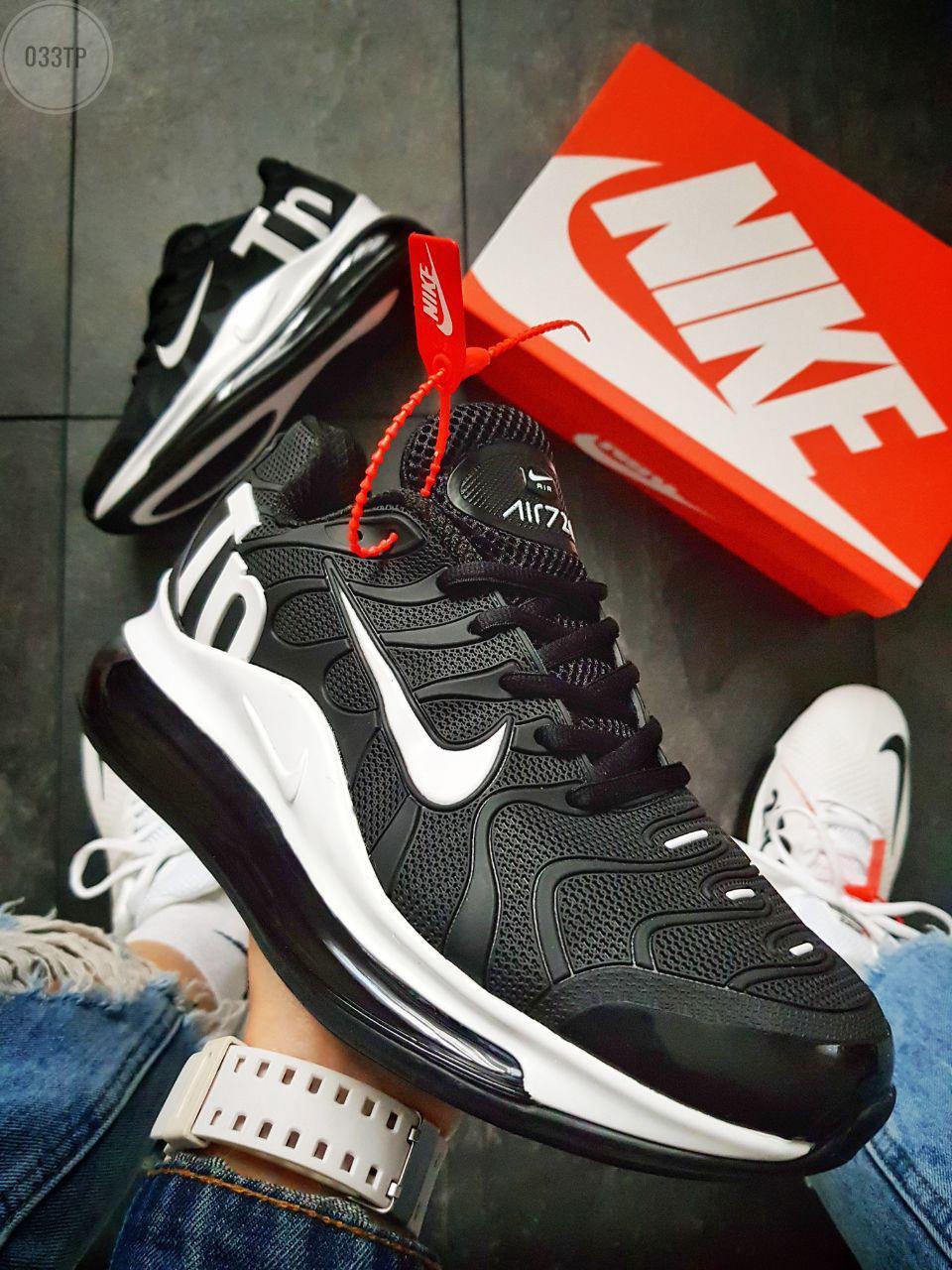 Мужские кроссовки Nike Air TN  Plus Black/white (Только 41)