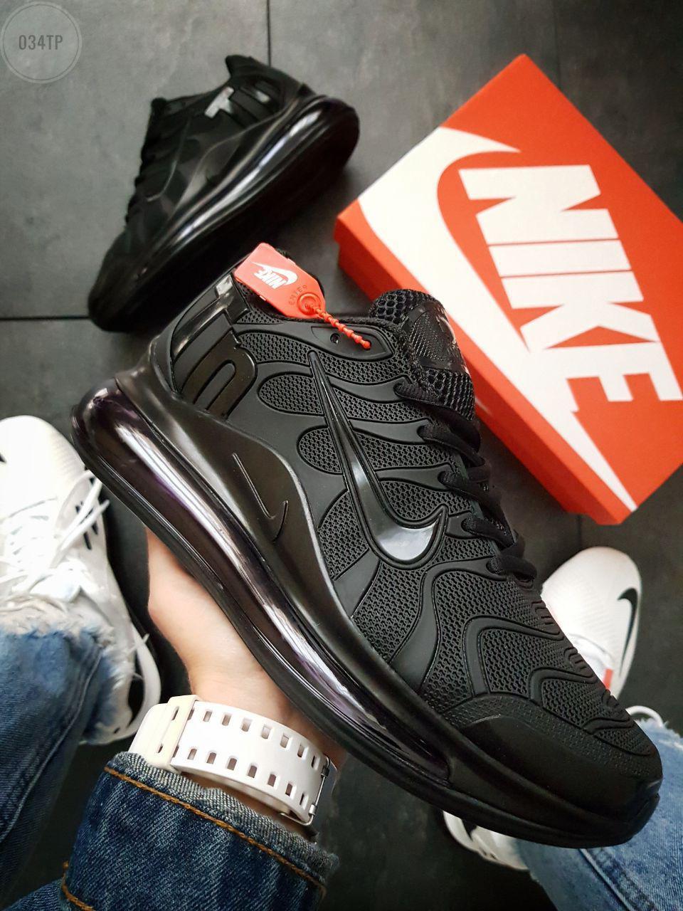 Мужские кроссовки Nike Air TN Plus Black (р. 42 и 43) Черные