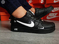 Мужские кроссовки Nike Air Force 19 Low Black (р. 41 42 43 44 45) Черные, фото 1