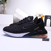 Мужские кроссовки Nike Air  Max720 Black Черные
