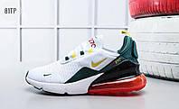 Мужские кроссовки Nike Air Max 270 Белые (40, 42.5, 43), фото 1