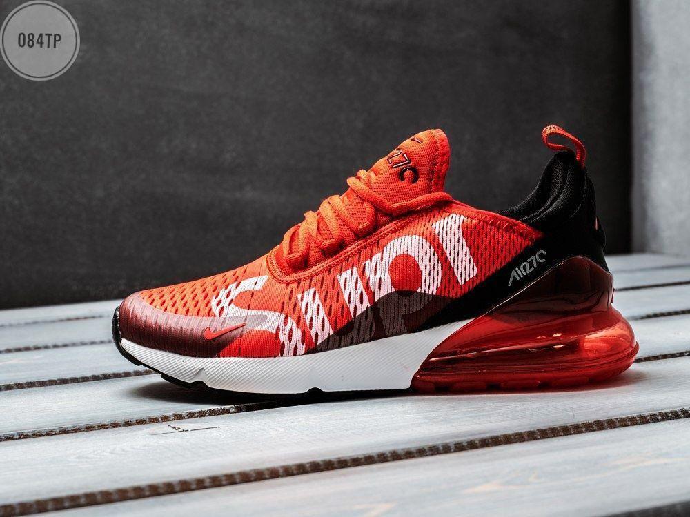 Мужские кроссовки Nike Air Max 270 Supreme (р. 40-45) Красные
