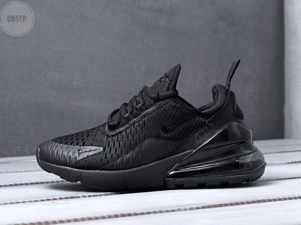 Мужские кроссовки Nike Air Max 270 black черные (р. 41 42 43 44 45)
