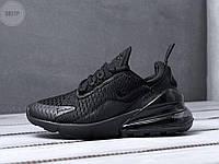 Мужские кроссовки Nike Air Max 270 black черные (р. 41 42 43 44 45), фото 1