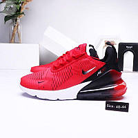 Мужские кроссовки Nike Air Max 270 red (р. 40 41 42) красные, фото 1