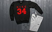 Зимний спортивный костюм Nike черный
