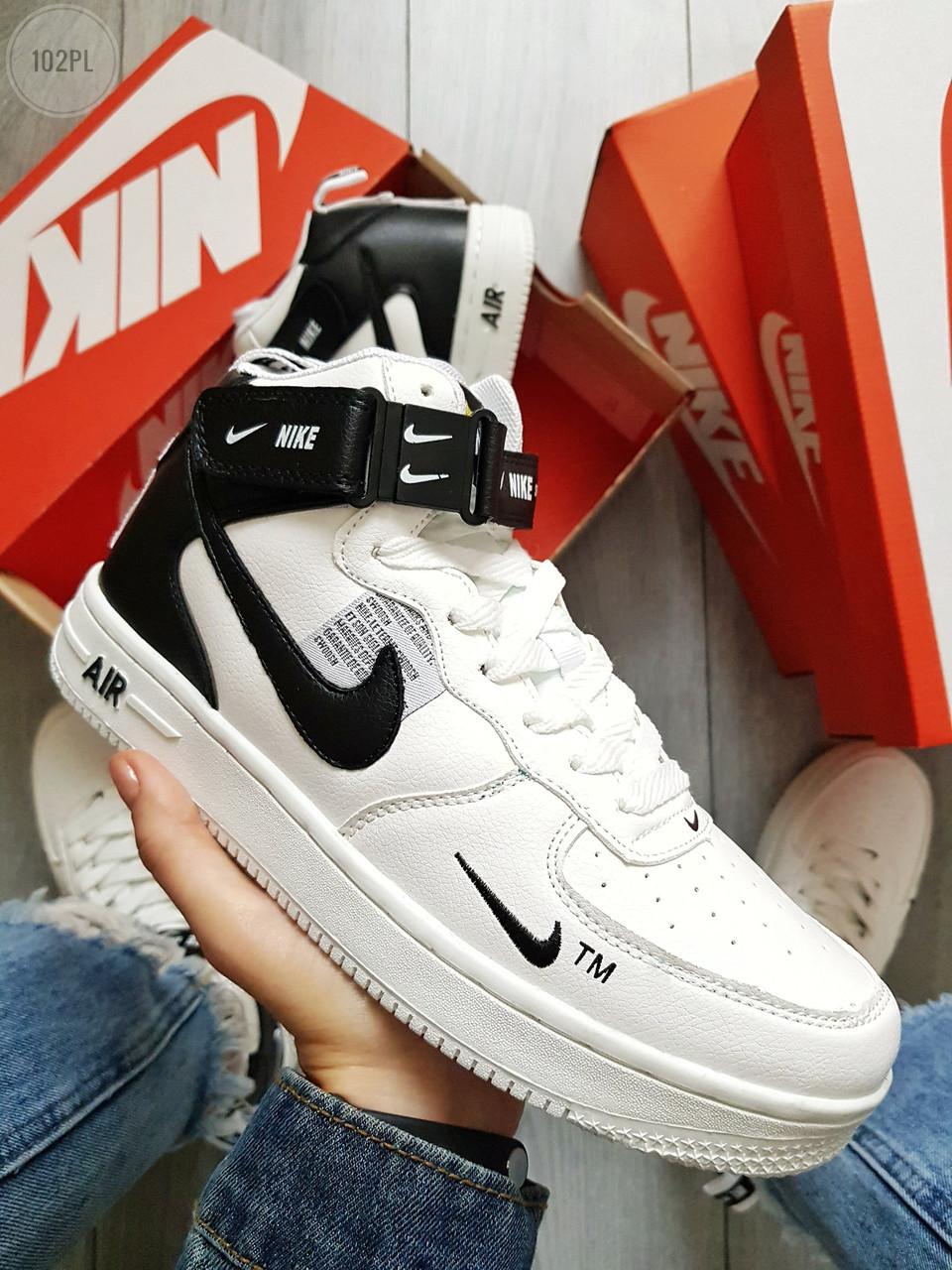 Мужские кроссовки Nike Air Force Hight 19 White (40-44