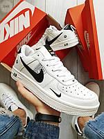 Мужские кроссовки Nike Air Force 19 Low White (р.40 и 43) Белые, фото 1