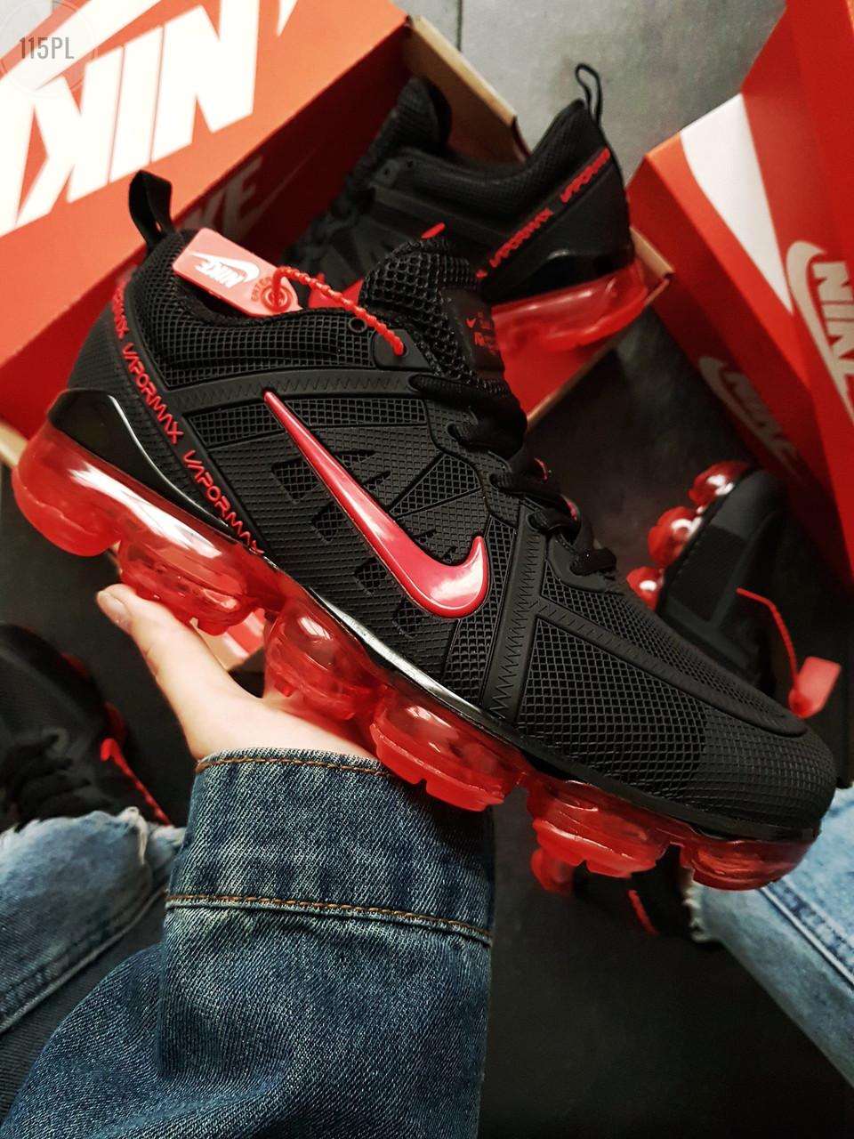 Мужские кроссовки Nike Vapormax 19 Kauchuk Black/Red