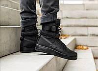 Мужские кроссовки Nike Air Force Hight Black (р. 42 и 44), фото 1
