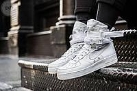 Мужские кроссовки Nike Air Force Hight White (р. 42 44 45) Белые, фото 1
