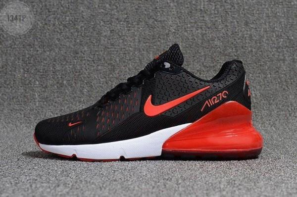 Мужские кроссовки Nike Air Max 270 Black (р. 41 42 43) черные