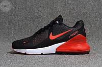 Мужские кроссовки Nike Air Max 270 Black (р. 41 42 43) черные, фото 1