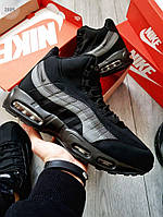 ЗИМА!!!! Мужские кроссовки Sneakerboot Winter Black (р. 41-44) Черные зимние, фото 1