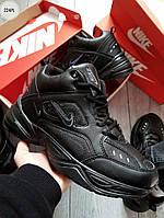 ЗИМА!!! Мужские кроссовки Nike M2 Tekno Black Winter (р. 40-43) Черные зимние, фото 1