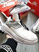 Мужские кроссовки Nike DMSX Air Max 720 Waves White р. 41-45 белые, фото 1