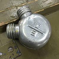 Масленка двухсекционная для чистки оружия, СССР