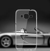 Ультратонкий 0,3 мм чехол для Samsung Galaxy Grand Prime G530 прозрачный, фото 1