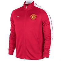 Спортивная олимпийка, кофта Nike MU, Манчестер Юнайтед, МЮ, Найк, красная
