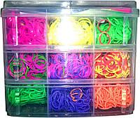 Резинки для плетения браслетов(LOOM BANDS) в кейсе