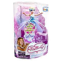 Летающая Фея Снежинка оригинал spin master юбка свет Deluxe Light Up Flutterbye Flying Fairy Snowflake, фото 1