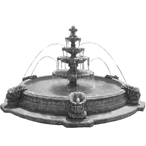формы для фонтанов из бетона купить